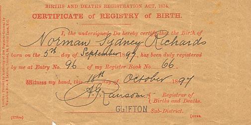 sydney birth records - photo#35