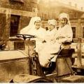 Red Triangle Hut  Halifax Nova Scotia Florence, Jean & Lillian Gass Front