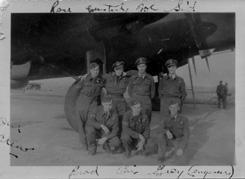 Crew with plane