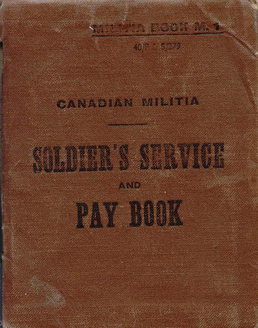 Pay Book 1943