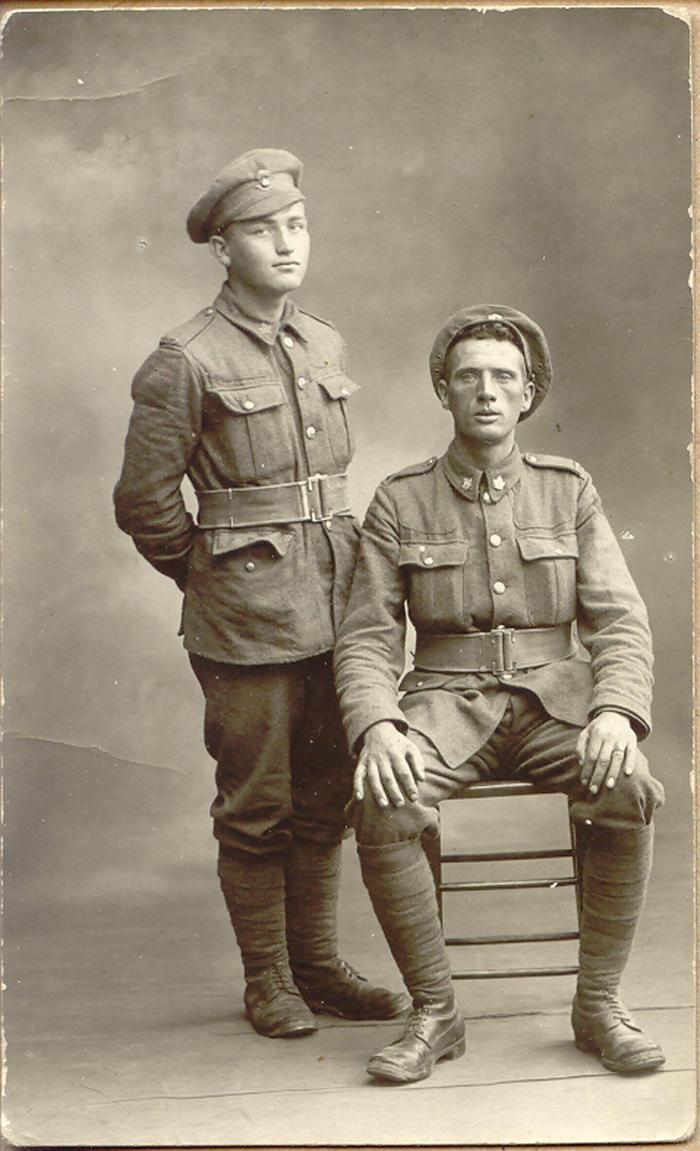 Roy (left)