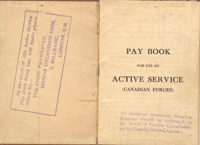 Paybook, inside cover