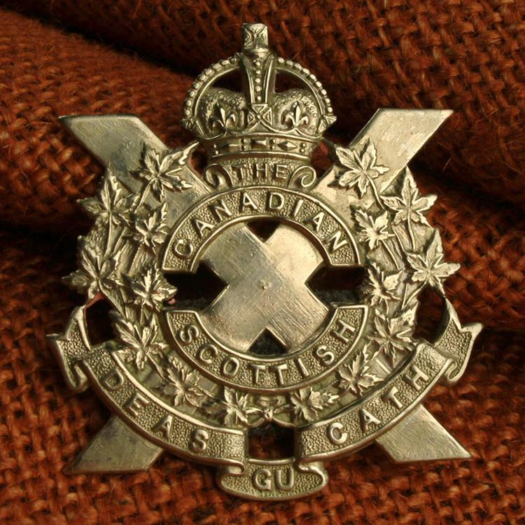 Canadian Scottish pin