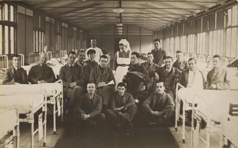 Harry Davies, back, third from right, nd.
