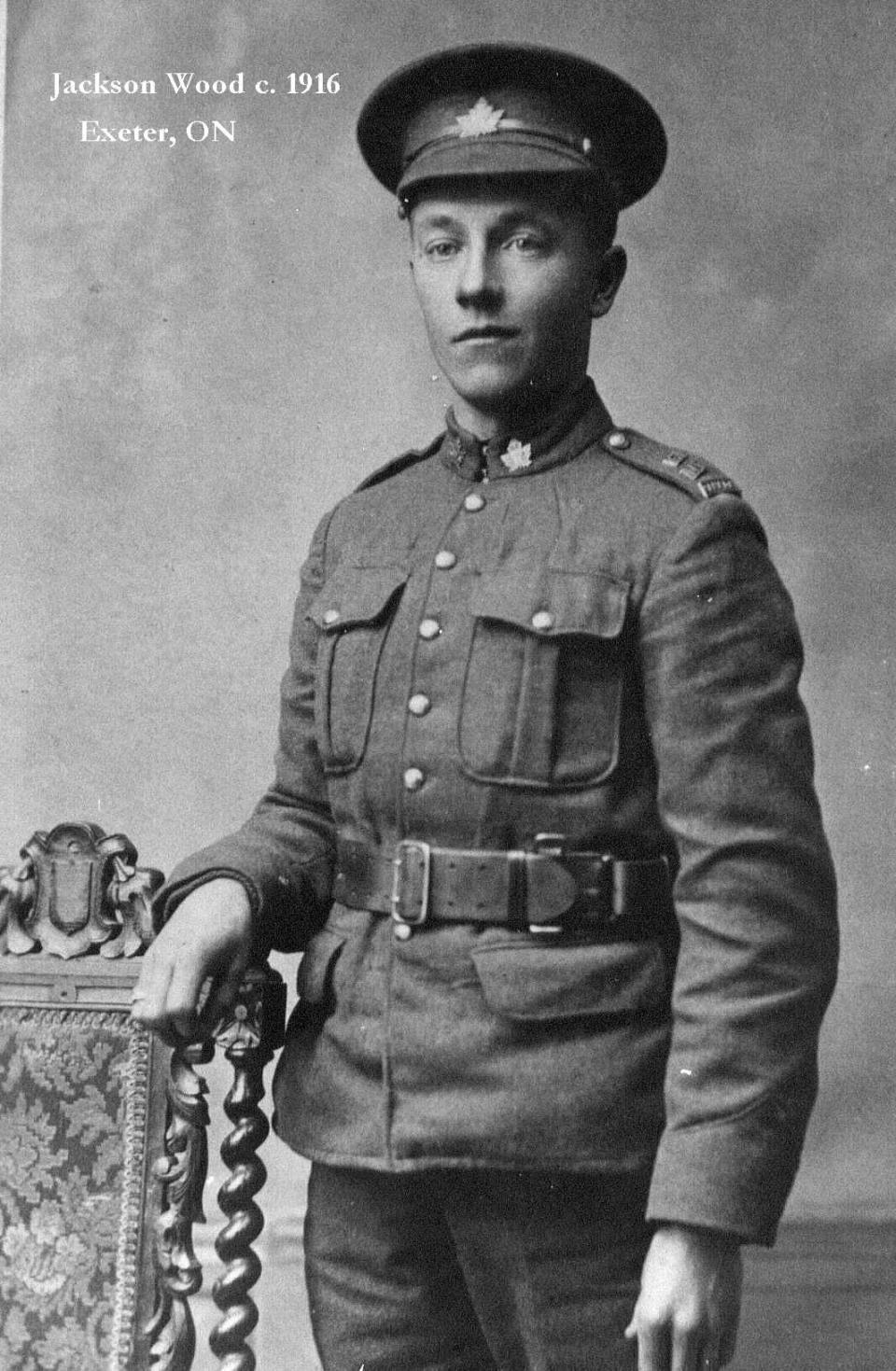 James Jackson Woods, 1916.