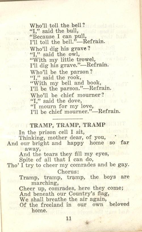 Winnipeg Rifles Songbook, nd, page 11