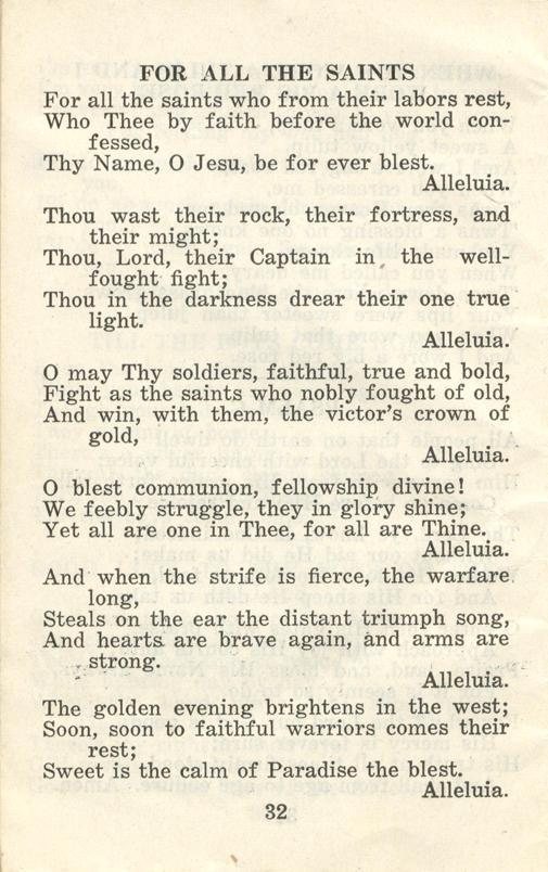 Winnipeg Rifles Songbook, nd, page 32