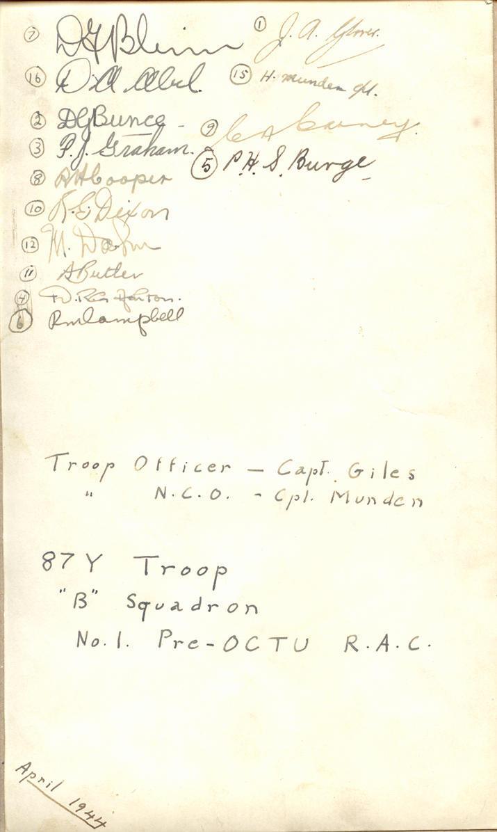 Troop Photo (back)