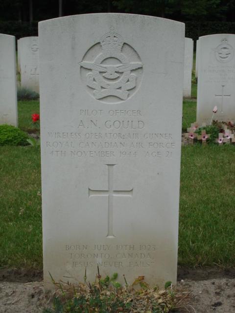 Albert Norman Gould's grave