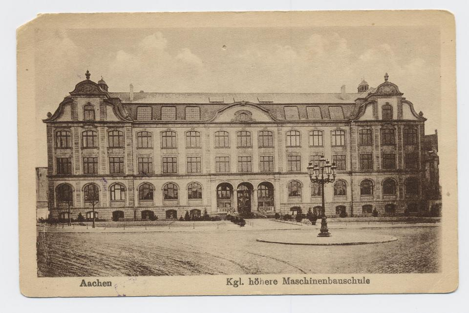 Hospital at Aachen (front)