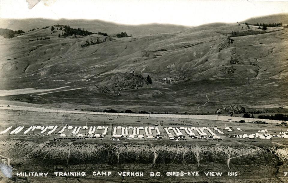 n.d. 8, Military Training Camp Vernon BC