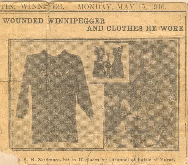 Clipping, May 15, 1916