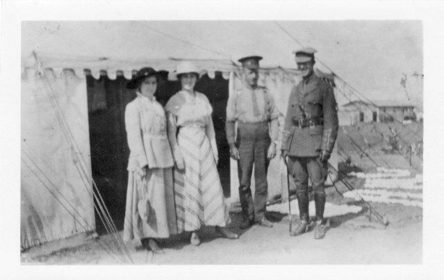 Photo Dr. Charles Thrush At Camp Borden Front only