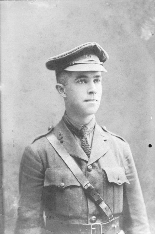 Photo Dr. Charles Thrush In Uniform Front Only