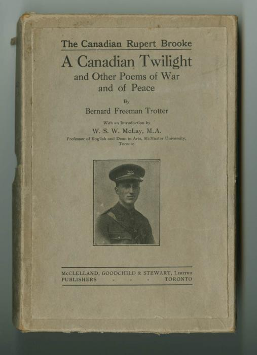 Cover of Freeman's book of poems, A Canadian Twilight