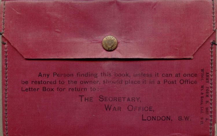War Office Military Wallet