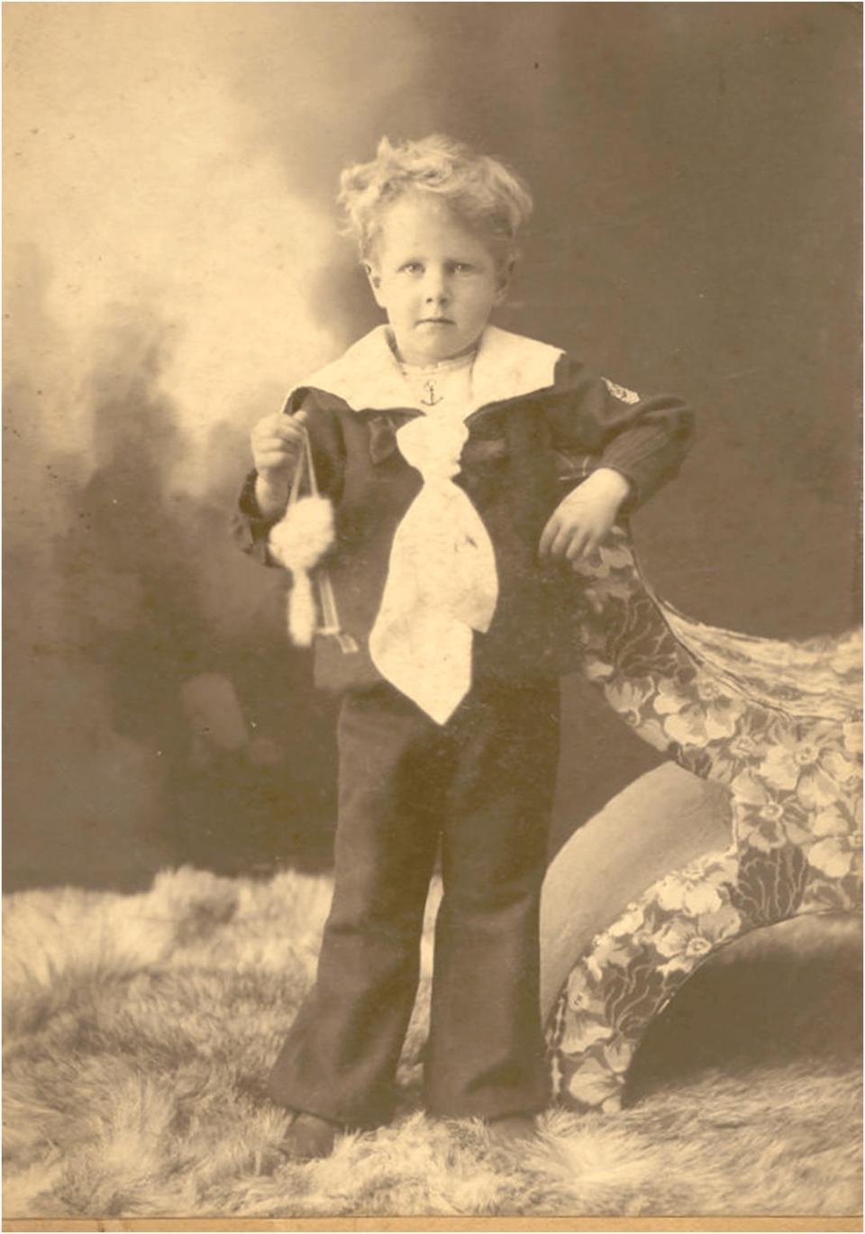 Sydney Winterbottom, age 5.