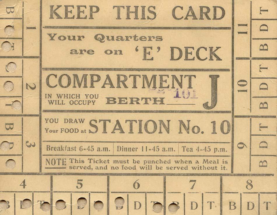 Compartment Card