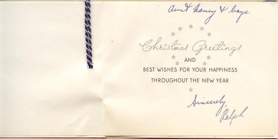 Christmas Card 1 (inside)