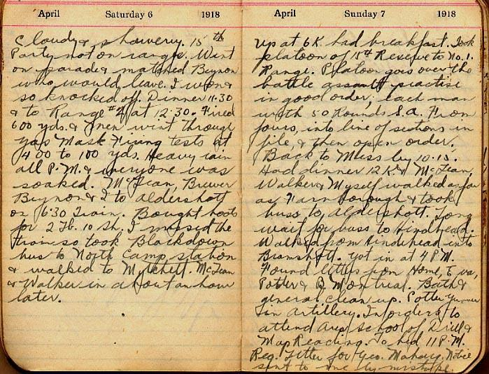 Maharg diary, page 24.