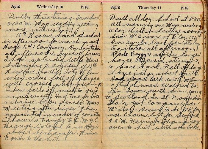 Maharg diary, page 26.