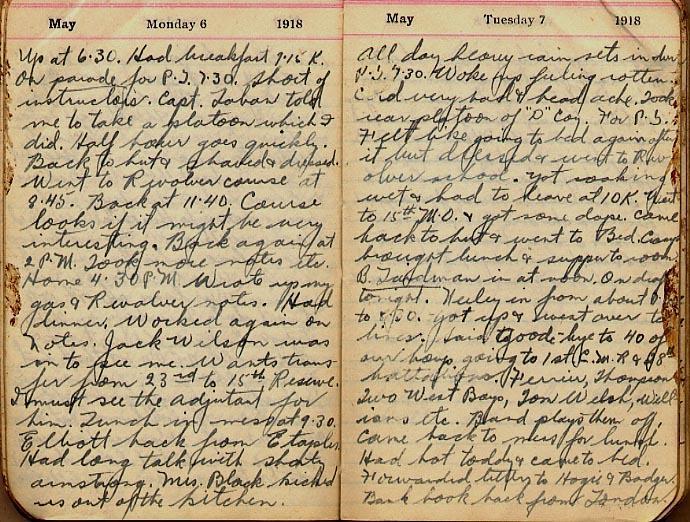 Maharg diary, page 39.