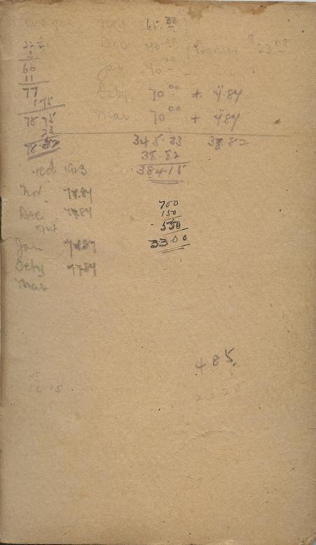 Monks notebook2. inside cover.back