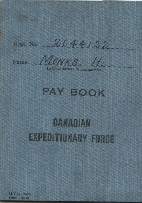 Monks paybook1.front cover