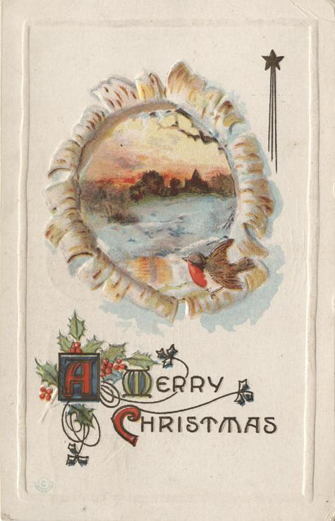 Christmas Card, December 23, 1915 front