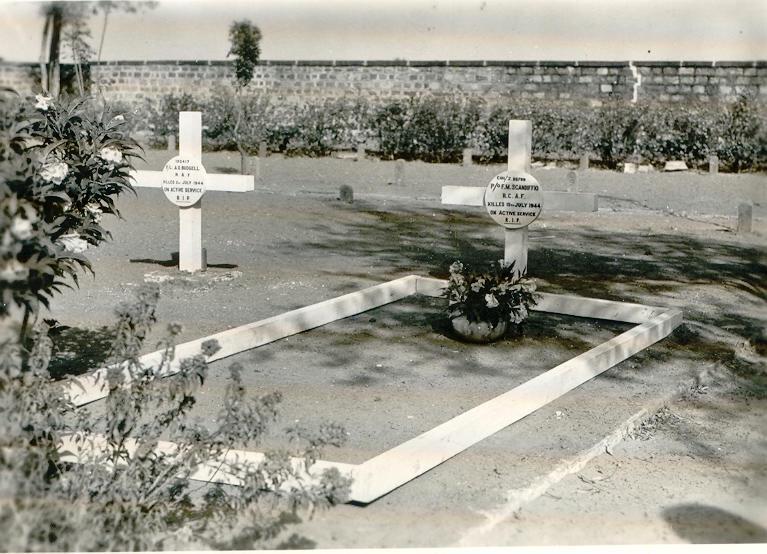 Frank Scandiffio's grave