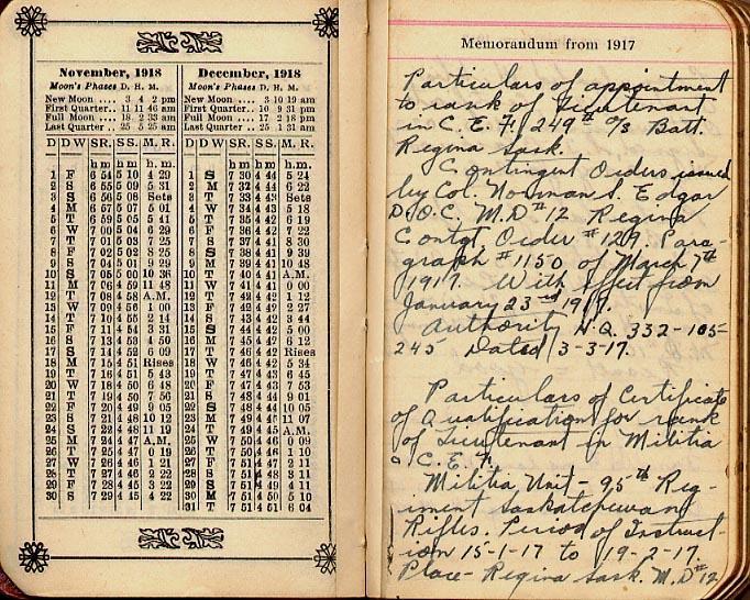 Maharg diary, page 4.