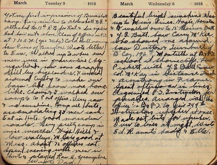 Maharg diary, page 7.
