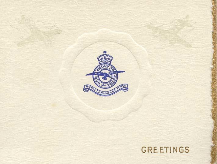 Christmas card 1941 - 1