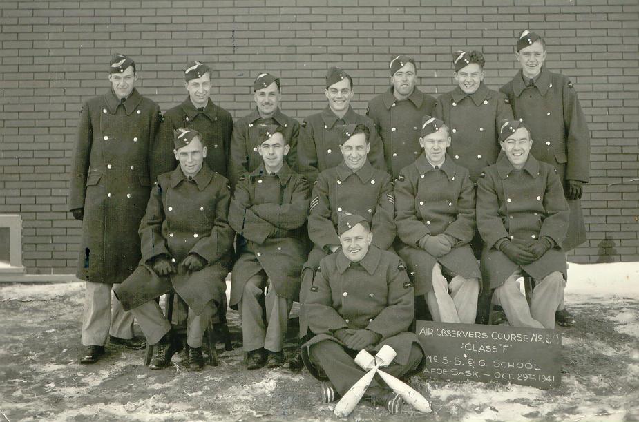 Morlidge Group Photo - October 1941 - Front