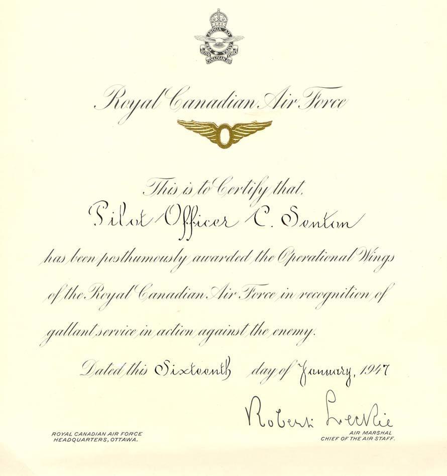 Award - January 16, 1947