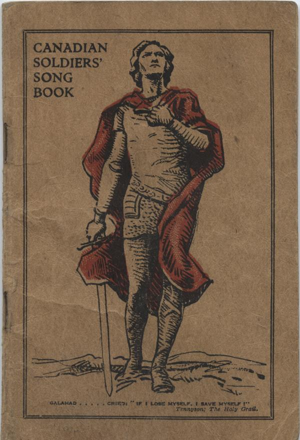 William Daniel Boon. Canadian Soldiers Songbook. Front Title Page.