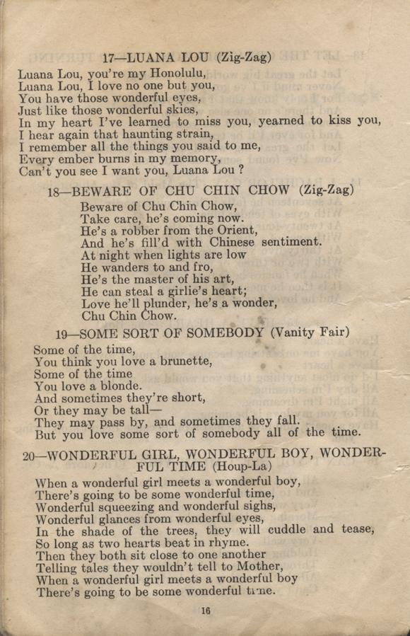 William Daniel Boon. Canadian Soldiers Songbook. Page 16.
