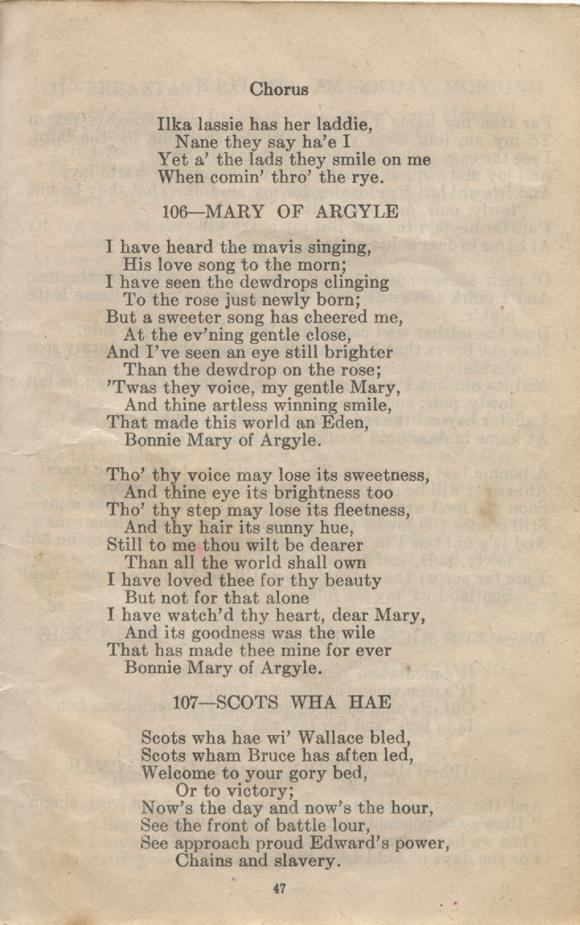 William Daniel Boon. Canadian Soldiers Songbook. Page 47.