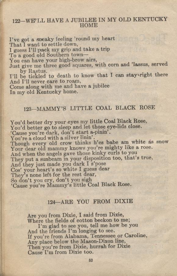 William Daniel Boon. Canadian Soldiers Songbook. Page 52.