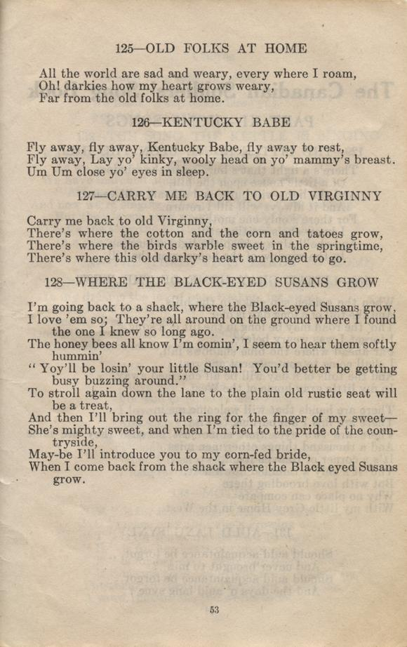 William Daniel Boon. Canadian Soldiers Songbook. Page 53.