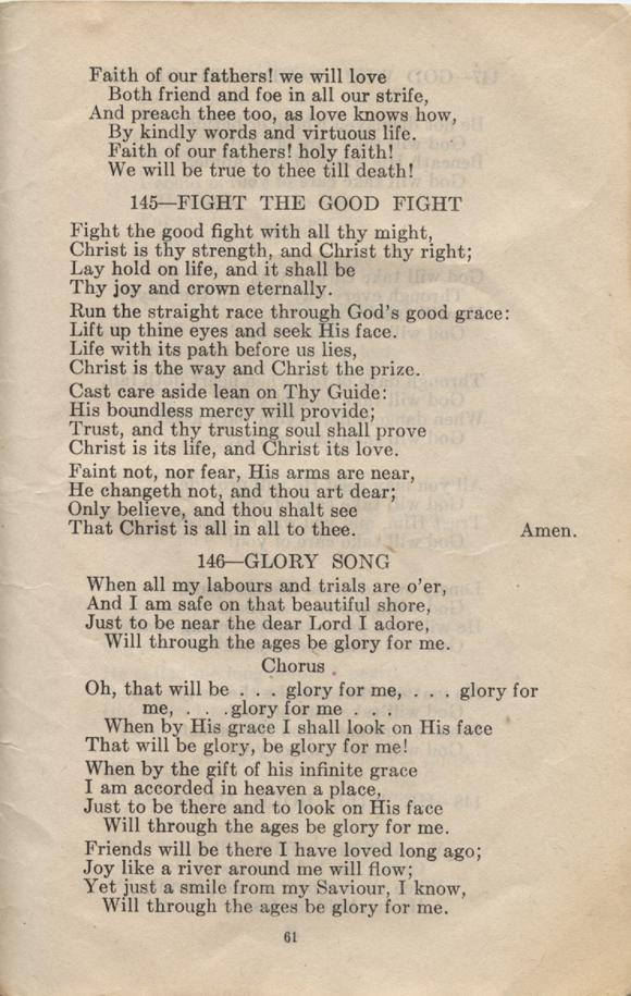 William Daniel Boon. Canadian Soldiers Songbook. Page 61.