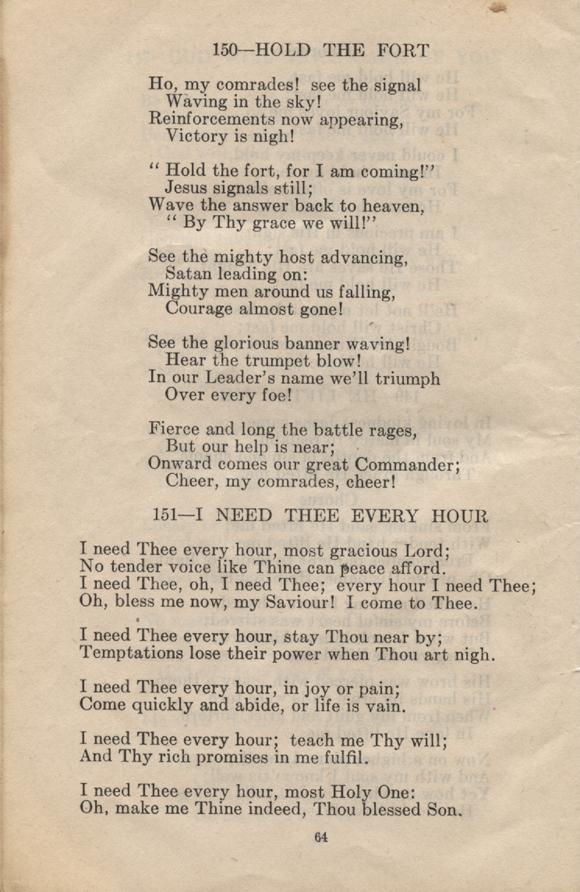William Daniel Boon. Canadian Soldiers Songbook. Page 64.