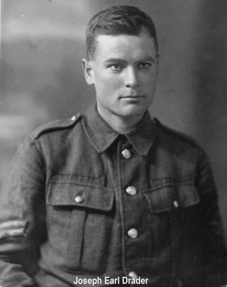 Joseph Earl Drader Uniform