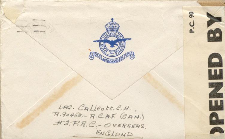 Envelope - May 3, 1943 - 2