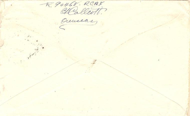 Evelope - May 31, 1945 - 2