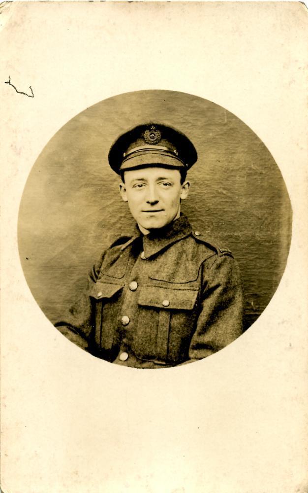 Soldier Portrait, front