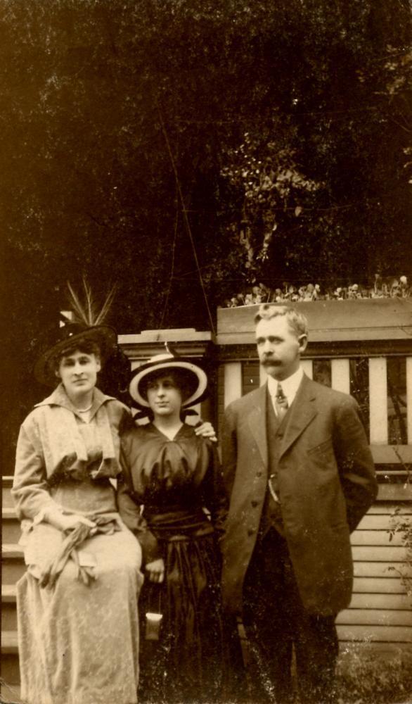 Family portrait, front