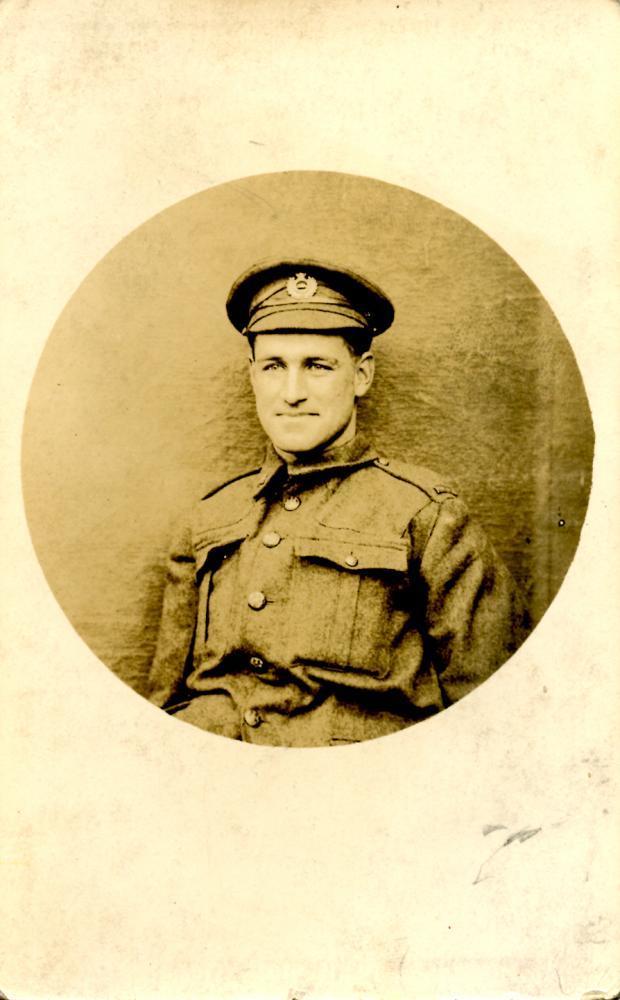 Portrait card, front