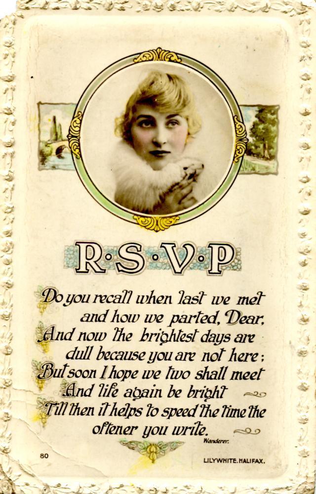 RSVP. front