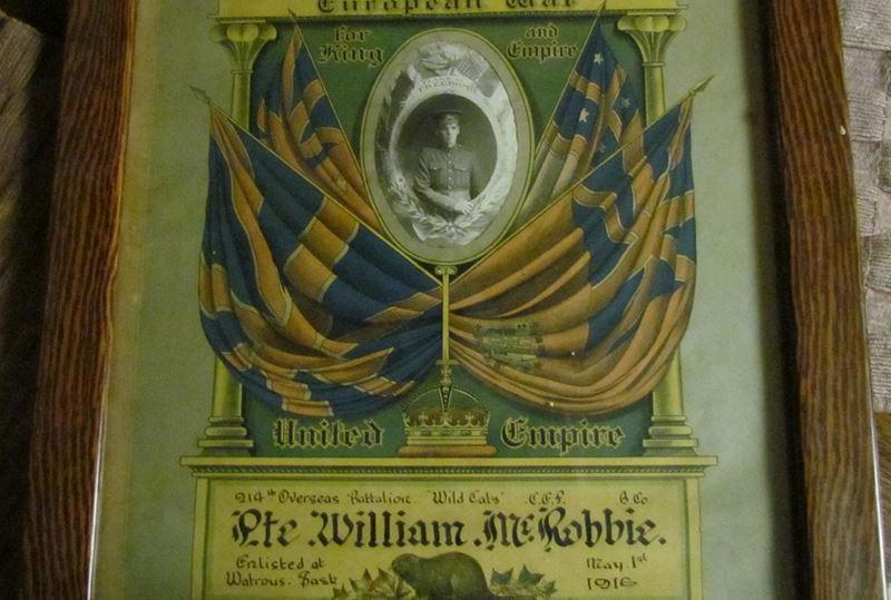 McRobbie William memorial